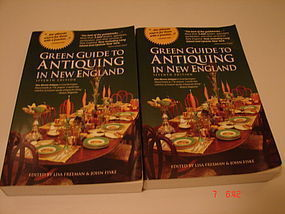 GREEN GUIDE TO ANTIQUING IN NEW ENGLAND