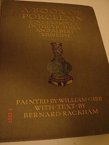 A BOOK OF PORCELAIN,BERNARD RACKHAM
