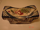 C. 1880 ANTIQUE CHINESE PORCELAIN OPIUM PILLOW