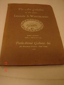 THE ART COLLECTION LILLIAN WHITMARSH,1961