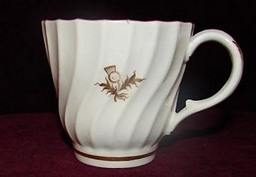 C. 1800 WORCESTER FINE PORCELAIN COFFEE/TEA CUP