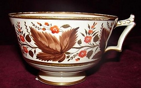 C.1800 BARR,FLIGHT AND BARR WORCESTER TEA CUP