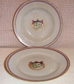 C. 1770 CHINESE EXPORT ARMORIAL SOUP PLATE