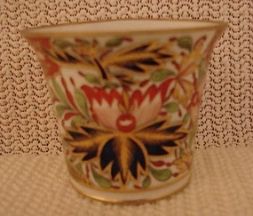 C. 1800 CHAMBERLAINS WORCESTER TEA CUP W/HANDLE
