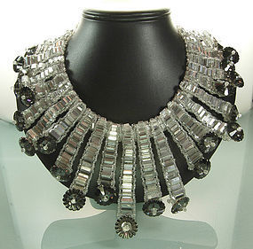 Showstopping C 1960 Signed Coppola e Toppo Necklace