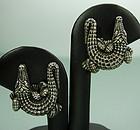 Barry Kieselstein-Cord Sterling Alligator Earrings