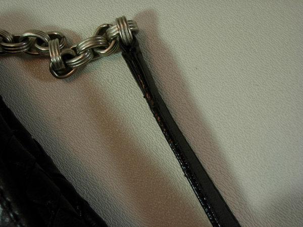 Bottega Veneta Nero Intrecciato Small Shoulder Bag