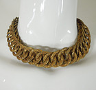 40s Joseff of Hollywood Byzantine Style Ornate Necklace