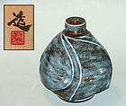 Contemporary Japanese Pottery Vase, Kawai Toru