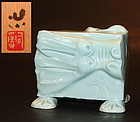 Porcelain Dragon by Sodeisha artist Suzuki Osamu