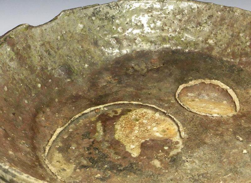 Contemporary Shigaraki Bowl by Tsujimura Shiro