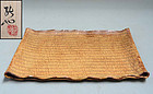 Kato Kozan Ceramic Tatami Plate