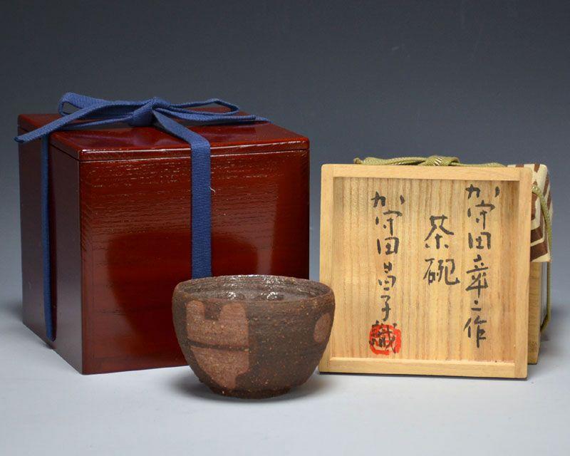 Rare Kamoda Shoji Chawan Tea Bowl