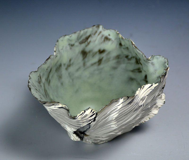 Amazing Shingu Sayaka Contemporary Ceramic Vessel