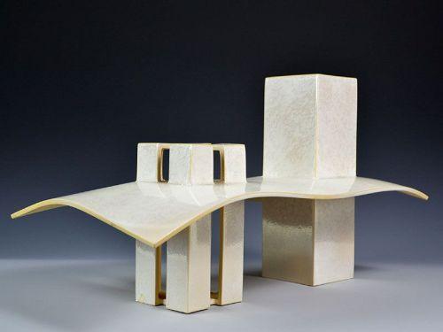 Kiyomizu Rokubei VIII Architectural Sculpture