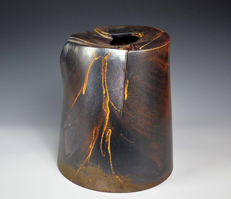 Kiyomizu Rokubei VIII Large Round Vase