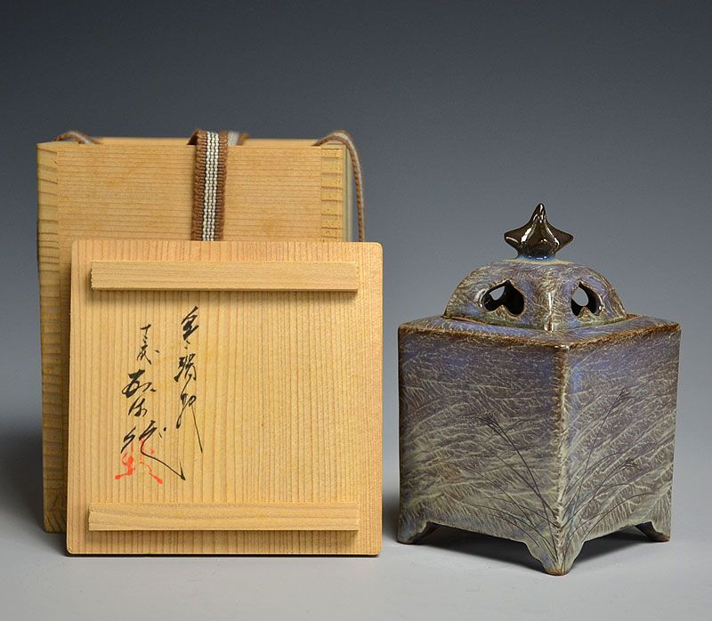 Haunting Koro Incense Burner by Yokoishi Gagyu