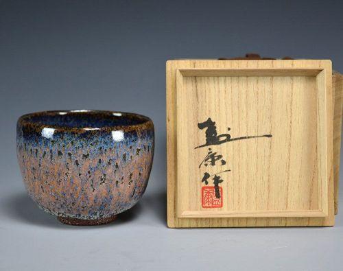 Exquisite Chawan Tea Bowl by Kimura Moriyasu