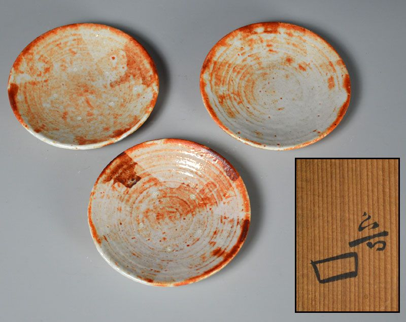 Kitaoji Rosanjin Shino Dish Set