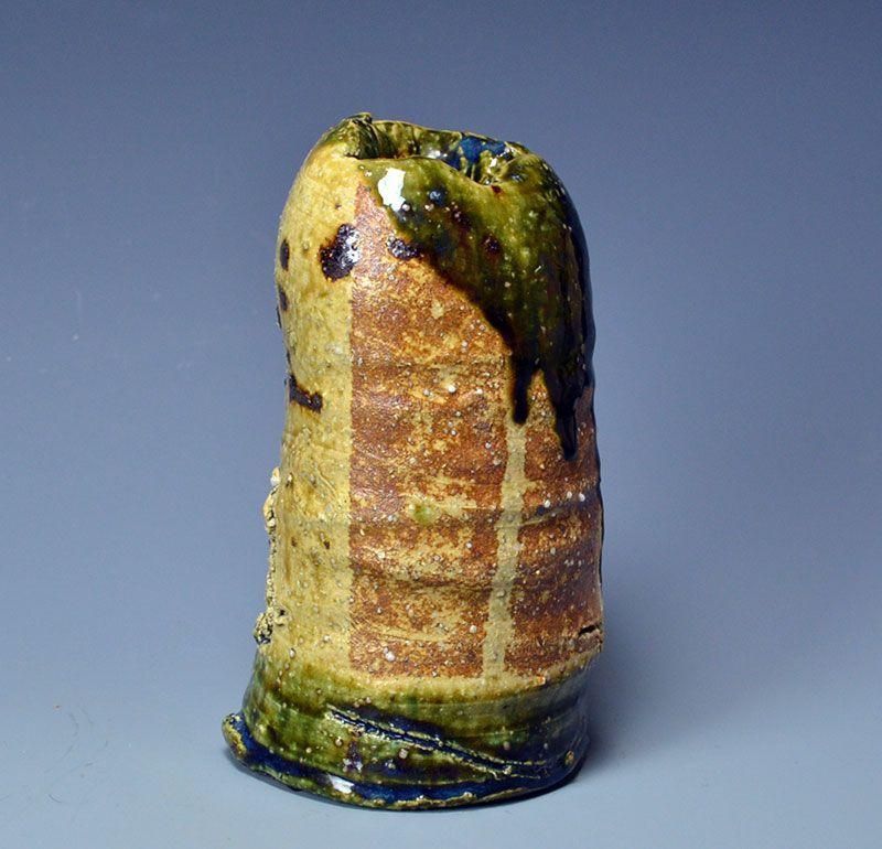 Oribe Vase by important artist Koie Ryoji