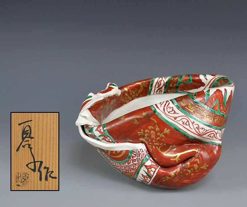 Playful Ceramic Sculpture, Female Artist Matsuda Yuriko