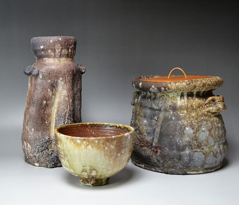 Kanzaki Shiho Shigaraki Chawan Tea Bowl
