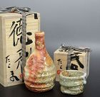 Sake Set, Tokkuri and Guinomi by Murakoshi Takuma