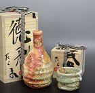 Sake Set, Tokkuri and Guinomi by Murakoshi Takuma