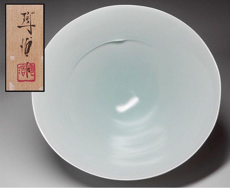 Fukami Sueharu Celadon Bowl
