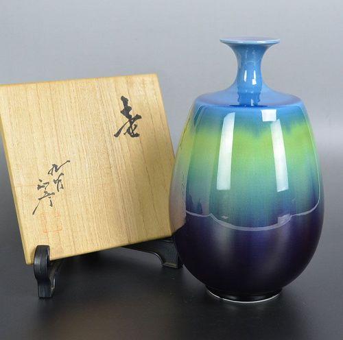 LNT Tokuda Yasokichi III  Porcelain Vase