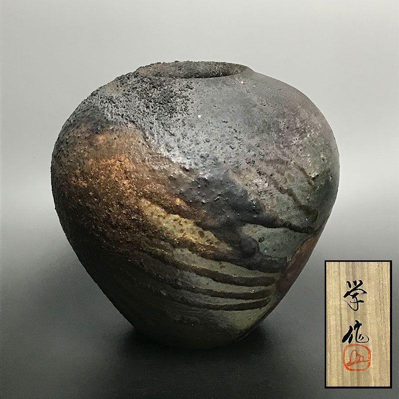 Bizen Yohen Tsubo by Yukuyoshi Manabu
