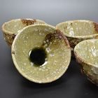 Ash Glazed Bowls, Tableware by Renowned Murakoshi Takuma