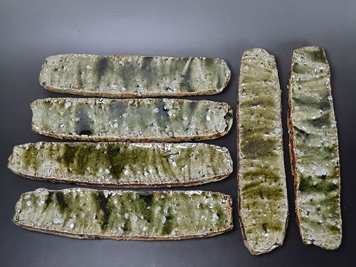 Murakoshi Takuma Contemporary Shigaraki Eel Plates
