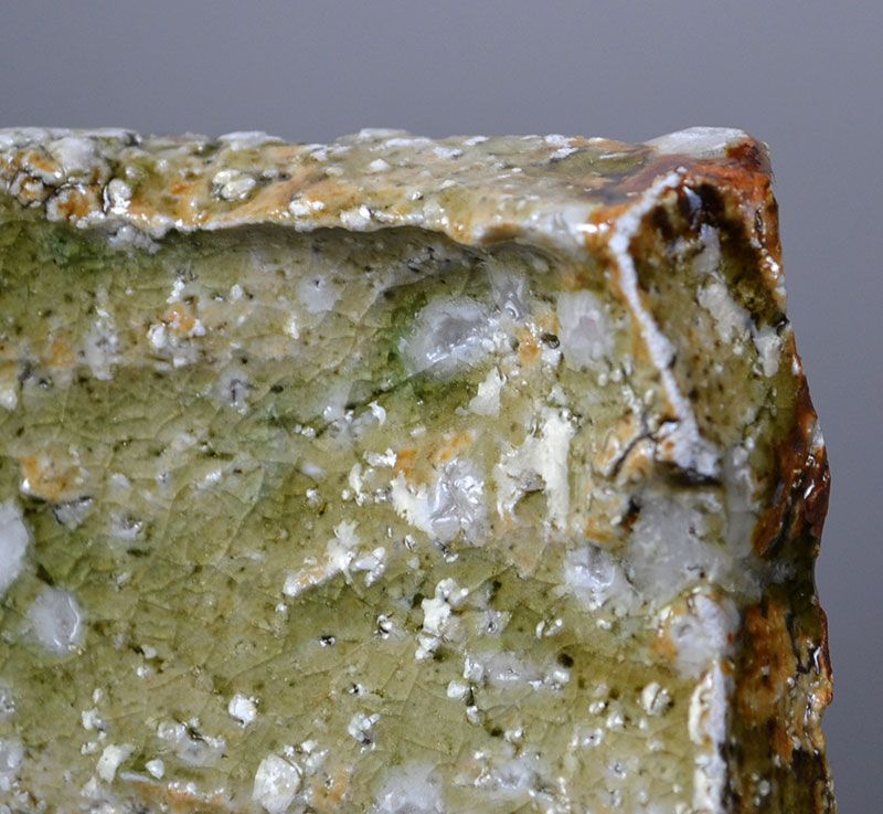 5 Ash Glazed Slab Plates by Renowned Murakoshi Takuma