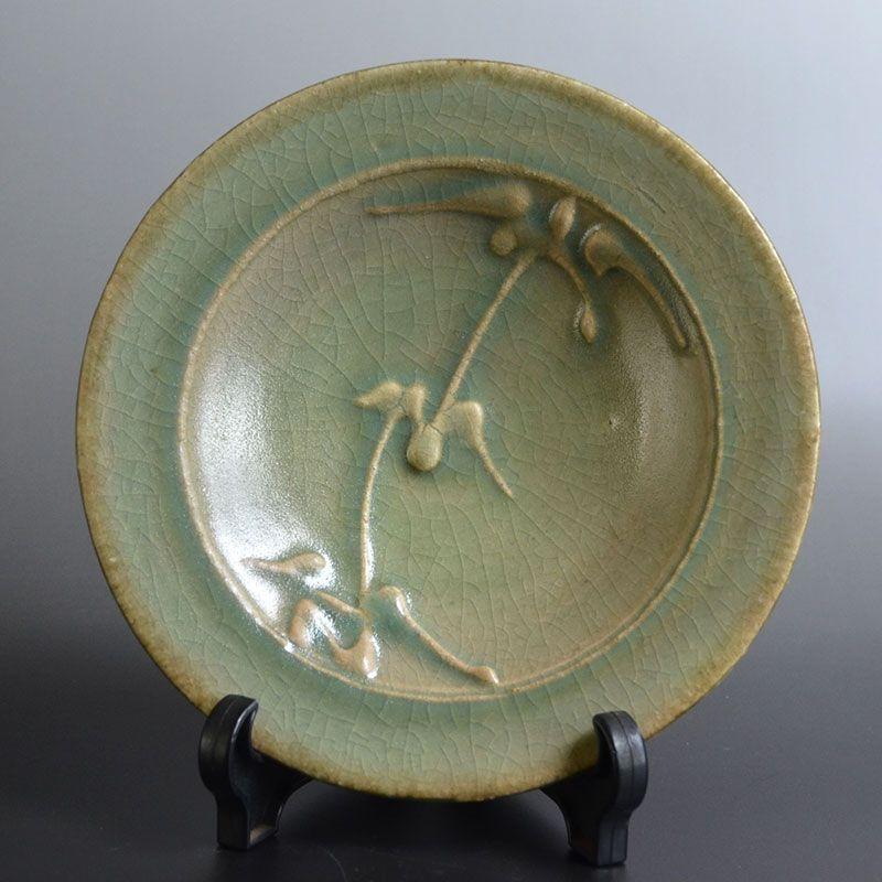 Kawai Kanjiro Seiji and Doro-e Plate