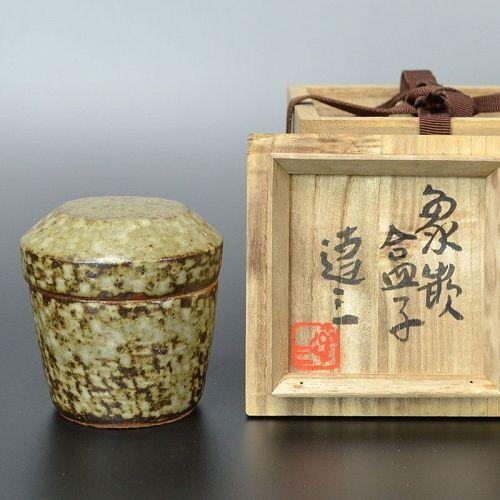 LNT Shimaoka Tatsuzo Zogan Kogo Incense Container
