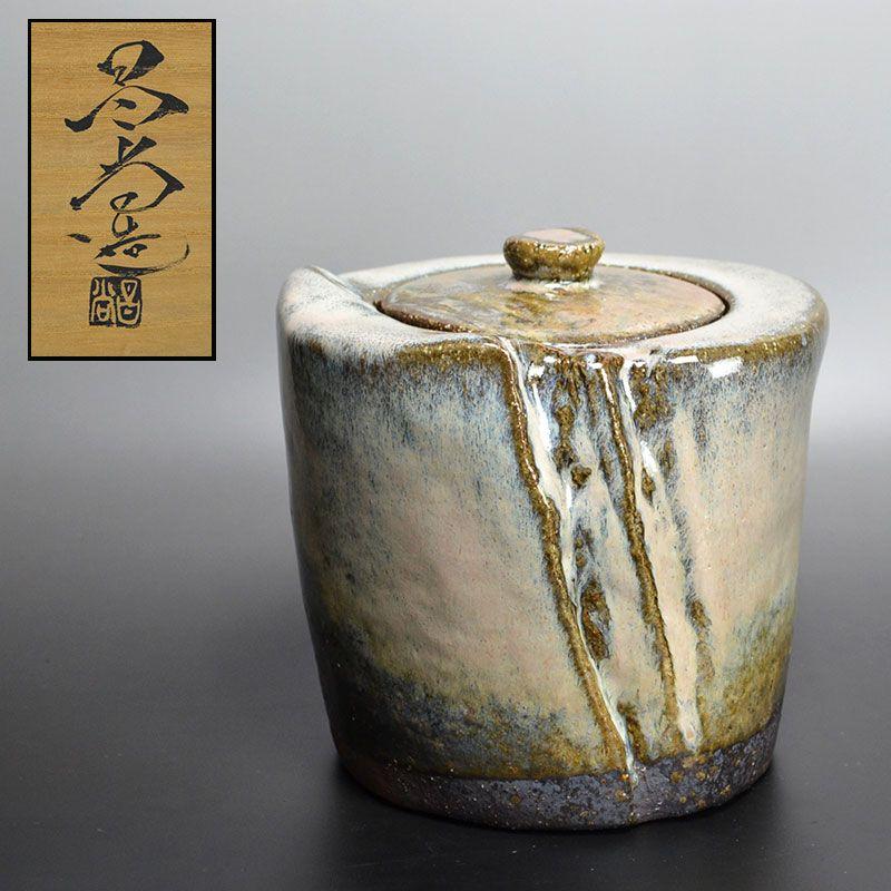 Mizusashi by Hagi Legend Kaneta Masanao