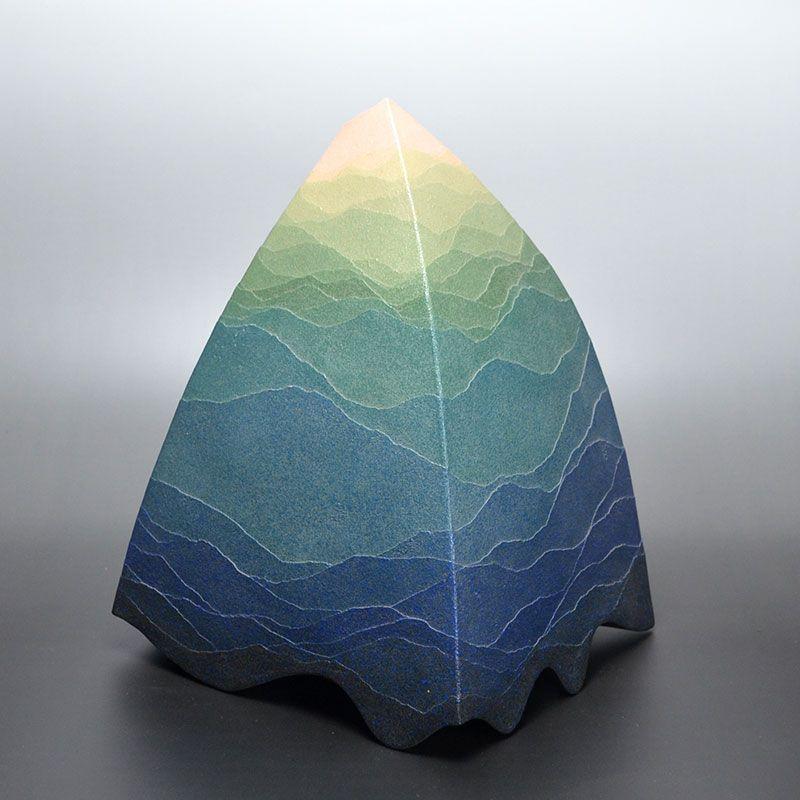 Elusive Miyashita Zenji Contemporary Ceramic Vase