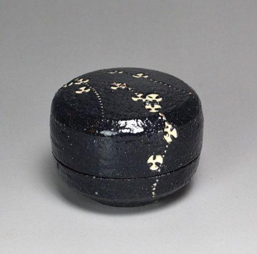 Kogo Ceramic Incense Box by Kondo Yutaka
