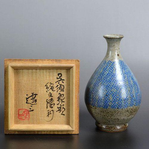 Tokkuri by Living National Treasure Shimaoka Tatsuzo
