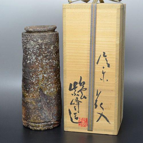 Kanzaki Shiho Shigaraki Vase