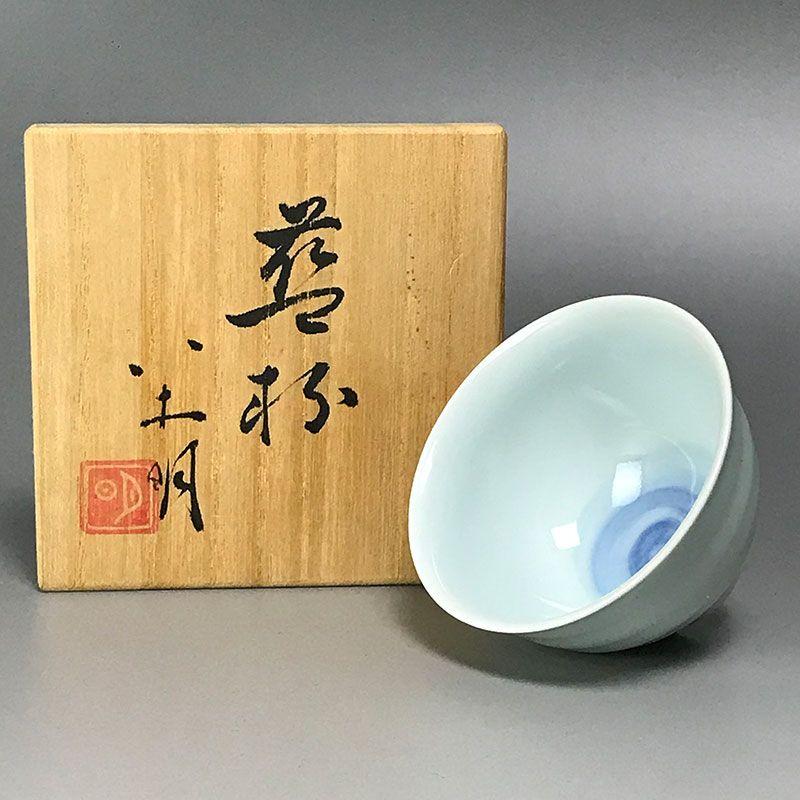 Yagi Akira Contemporary Porcelain Sake Cup