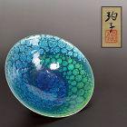Ono Hakuko Swirling Dots Chawan Tea Bowl