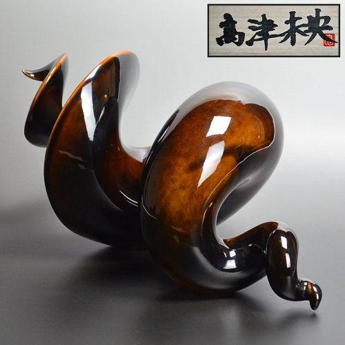 Female Ceramic Sculptor Takatsu Mio Spiral