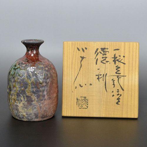 Sakuchi Ensen Tokkuri sake flask
