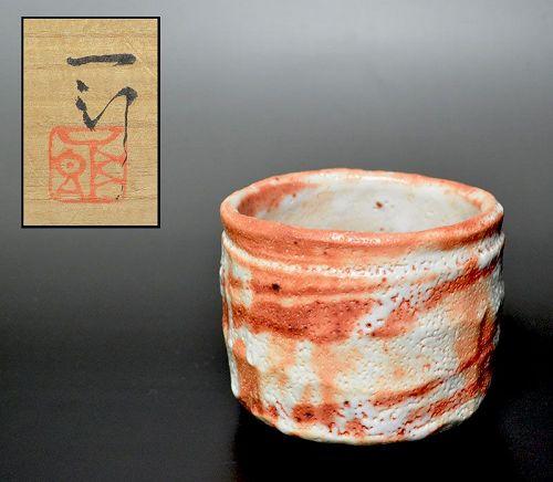 Hori Ichiro Shino Chawan Tea Bowl