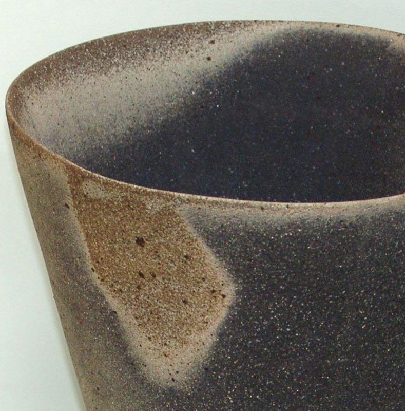 Massive Yakishime Vase by Mihara Ken