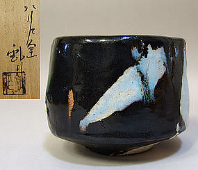Robust Japanese Kuro Chawan by Kato Sho