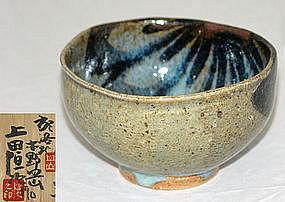 Modern Mingei Japanese Chawan Tea Bowl, Ueda Tsuneji
