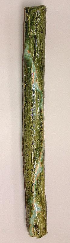 Contemporary Kakehana Oribe Hanging Vase, Ito Katsuhiko